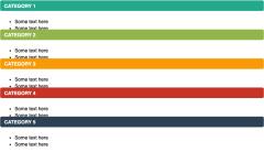 垂直项目符号列表