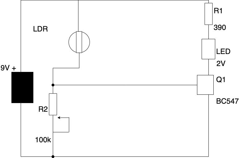 光敏电阻器(LDR)