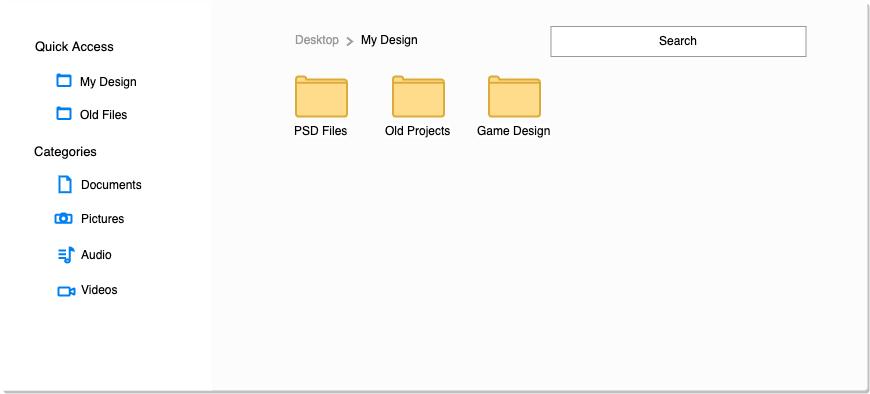 文件管理流畅的用户界面