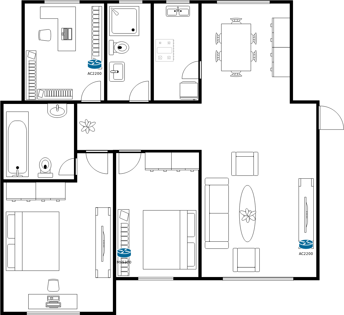 Wifi Floor Plan