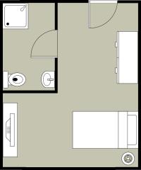 单卧室布局