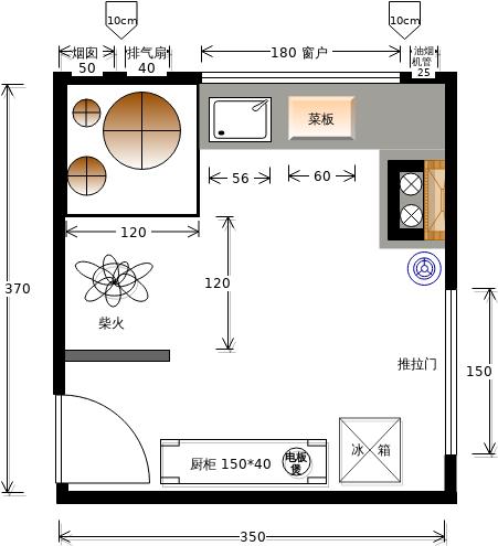 厨房结构图3