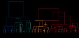 聚类谱系图