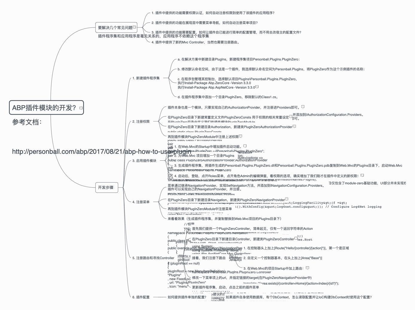 使用ABP的插件模块进行开发