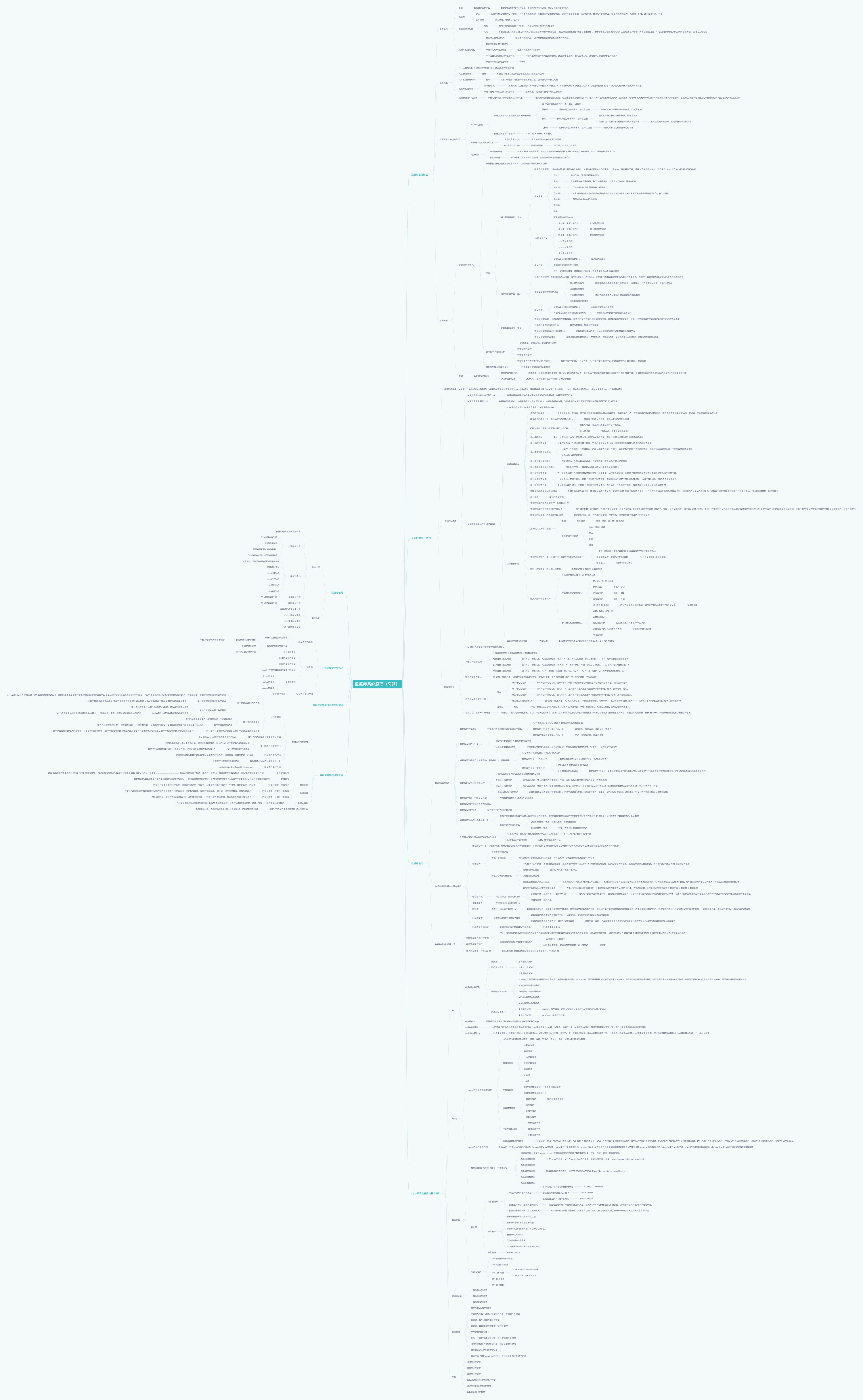 数据库系统原理(代码04735)