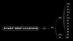 贵州省建筑门窗幕墙产业协会组织架构图
